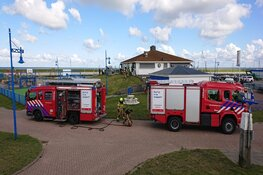 Brand in keuken haven Oudeschild