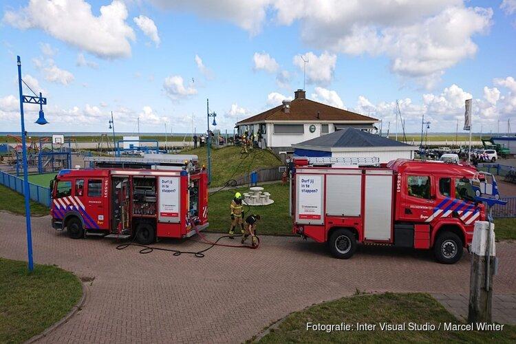Brand in keuken haven Oudeschild