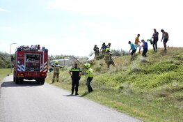 Duinbrand in Texel