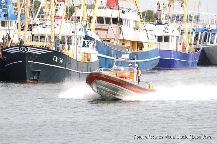 KNRM Oudeschild opgeroepen voor een schip aan de grond