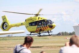 Geen ambulance's beschikbaar op Texel. Waddenheli landt op eiland