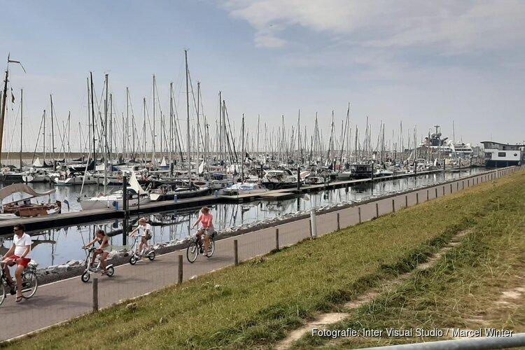Zonder reservering is de haven Oudeschild op Texel vol