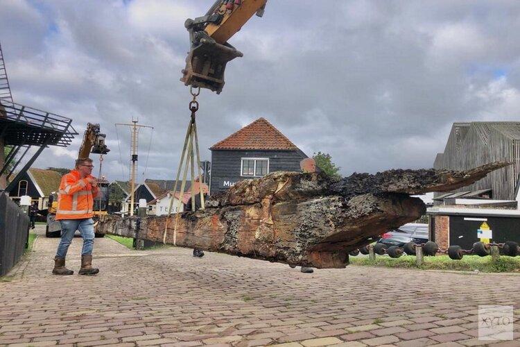 Opgedoken vondsten met bijzonder transport naar Museum Kaap Skil