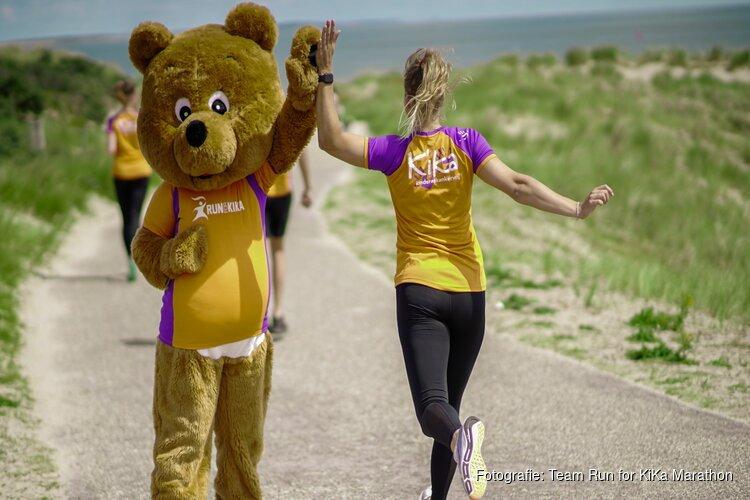 Alsnog een marathon voor KiKa dit jaar!  Op Texel!