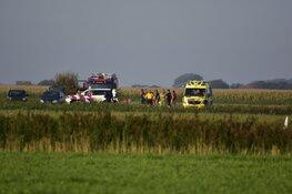 Ongeval met parachutisten op Texel