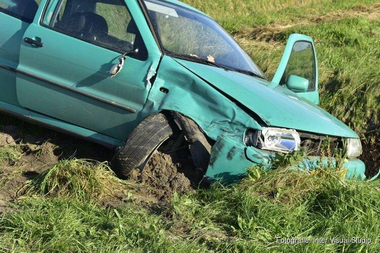 Veel blikschade bij ongeval op Texel