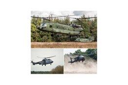 Van 23 tot 27 november: training Koninklijke Luchtmacht De Kooy en Vliehors Range