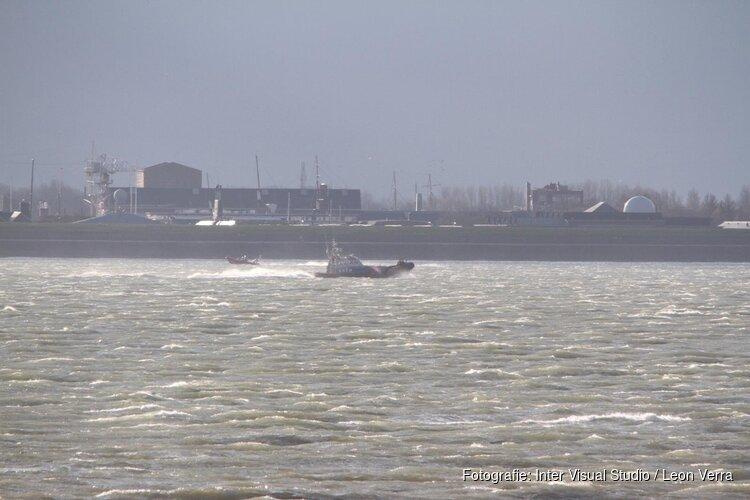 Grote zoekactie rond Helderse veerhaven blijkt loos alarm