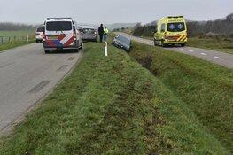 Flinke schade bij eenzijdig ongeval in De Koog