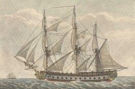 Bijzondere vondsten onderzoek wrak Brits oorlogsschip (1799)